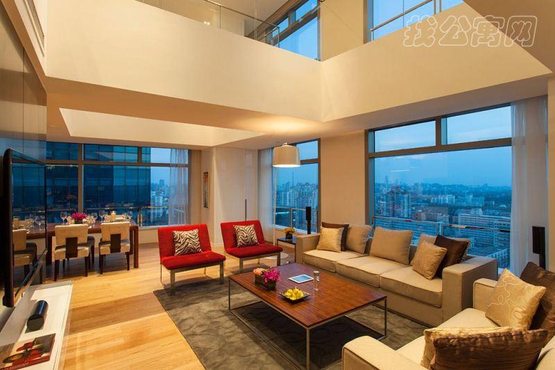 金隅环贸国际公寓室内实景图