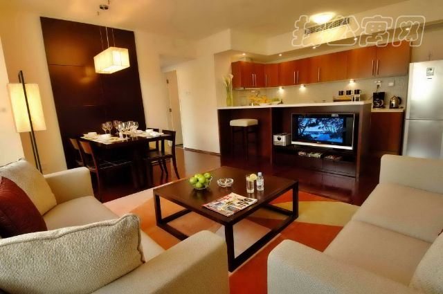 橡树公馆酒店公寓两居室2