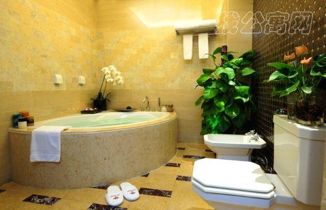 橡树公馆酒店公寓四居室大浴室