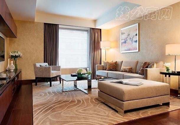 北京万豪行政公寓一居室起居室