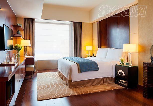 北京万豪行政公寓一居室卧室