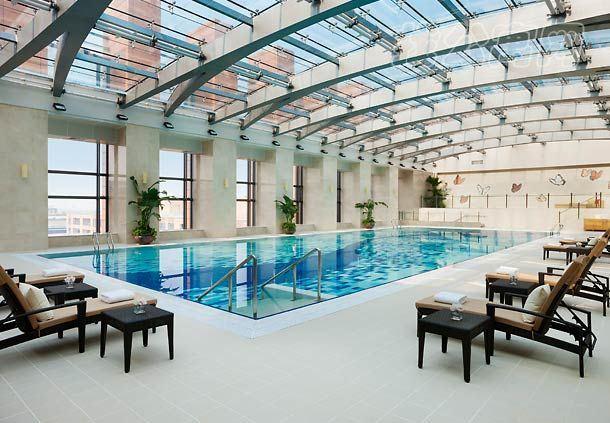 北京万豪行政公寓室内泳池