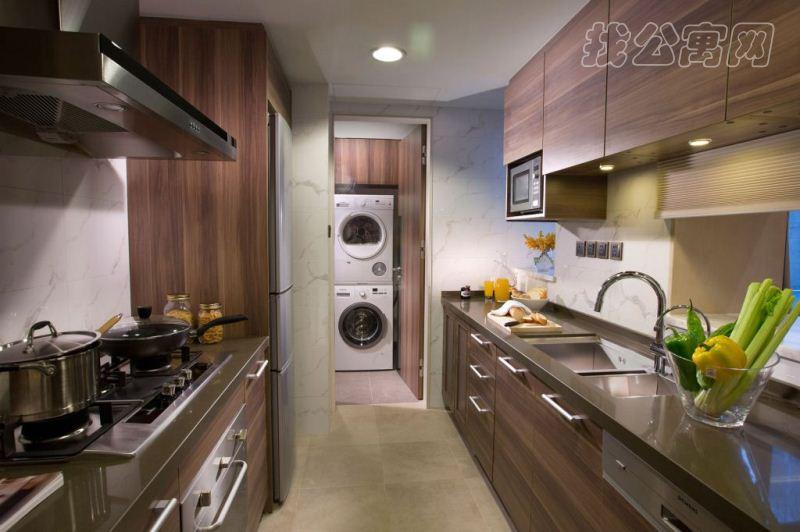北京嘉里中心公寓2bre-kitchen
