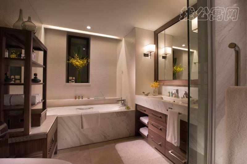 北京嘉里中心公寓3br-bathroom