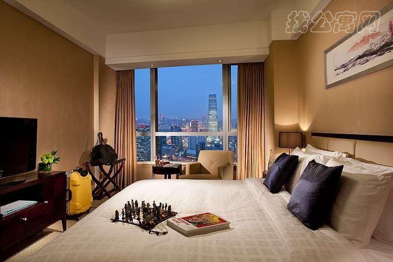 北京财富中心千禧公寓内部实景图