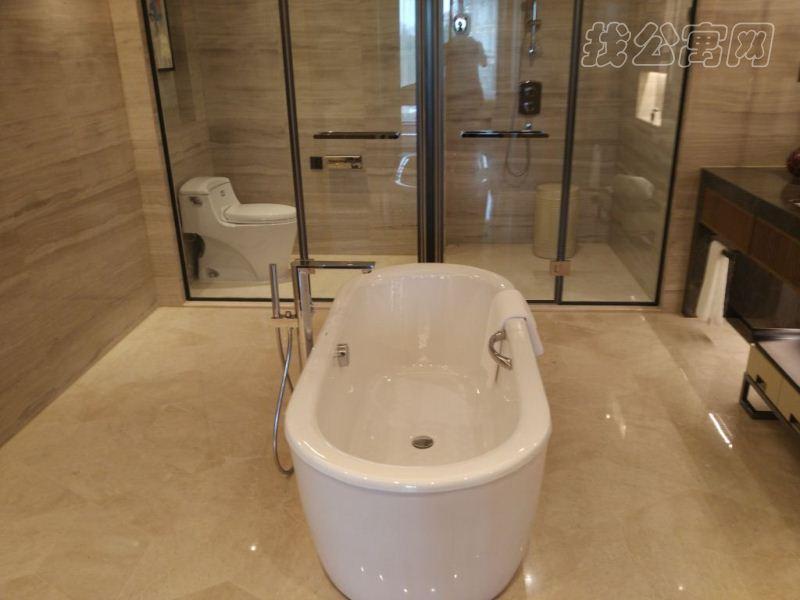 雅诗阁山水文园服务公寓浴室