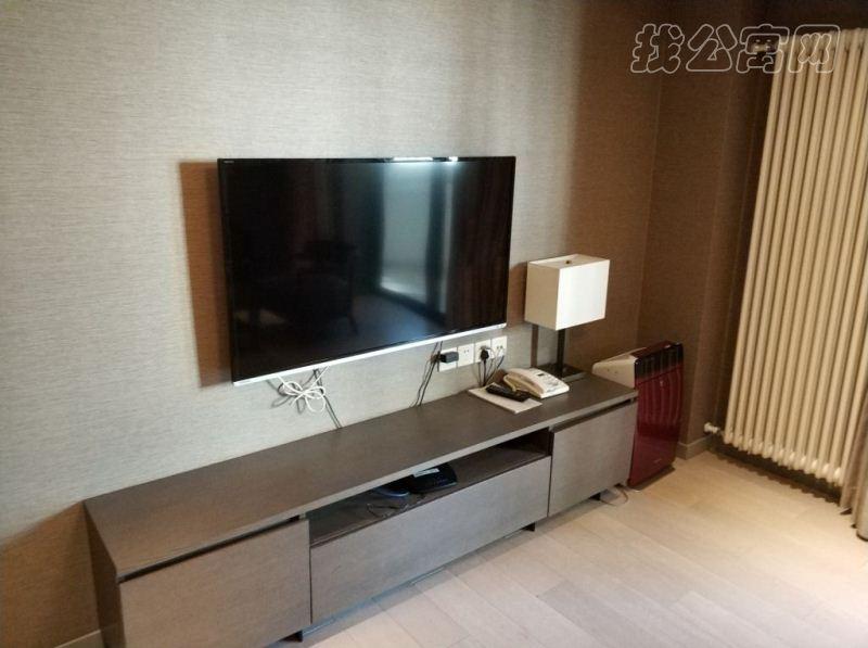 国贸世纪酒店式公寓起居室