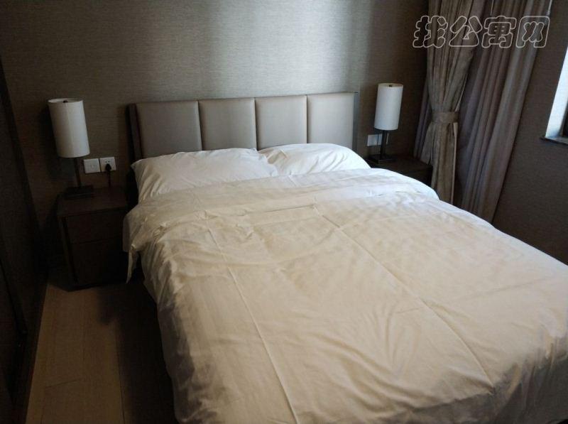 国贸世纪酒店式公寓卧室