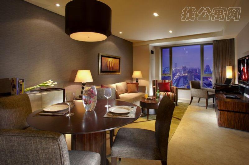 北京绿城奥克伍德华庭公寓室内实景图