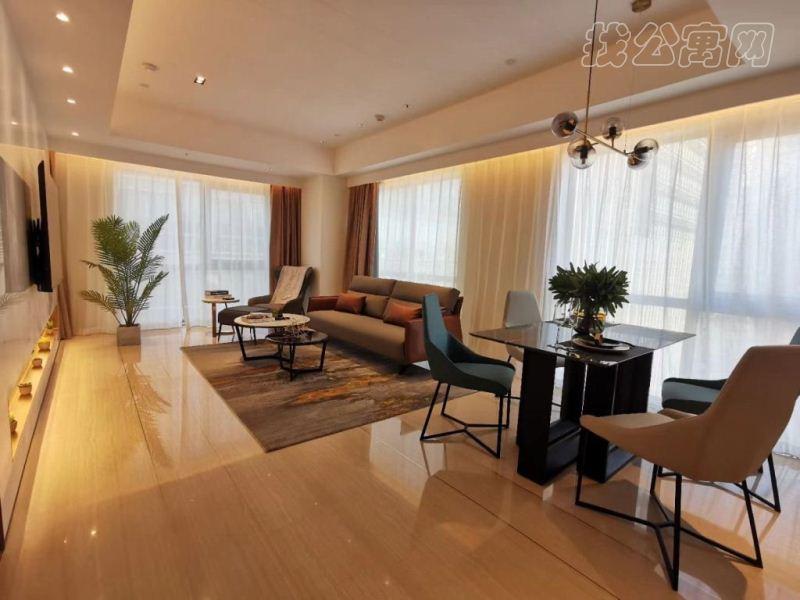 泰禾北京公馆酒店式公寓内部实景图